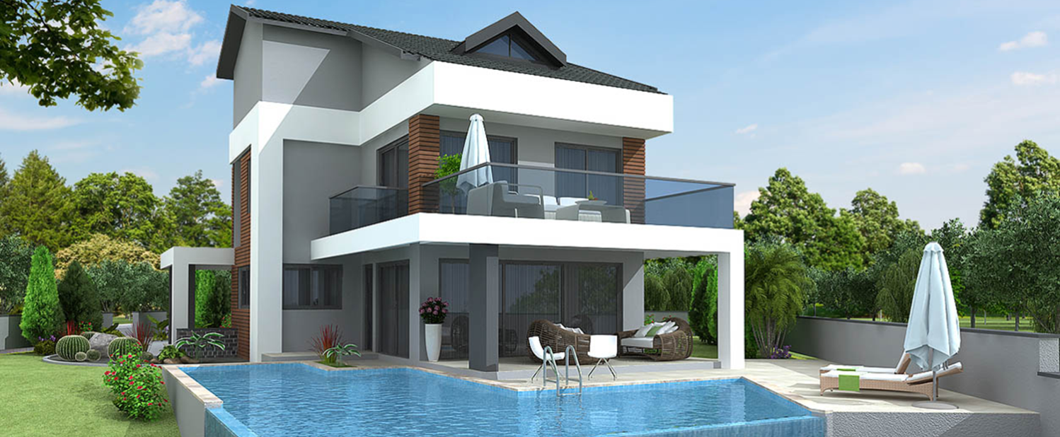 Detached Villas for Sale in Ovacık Turkey