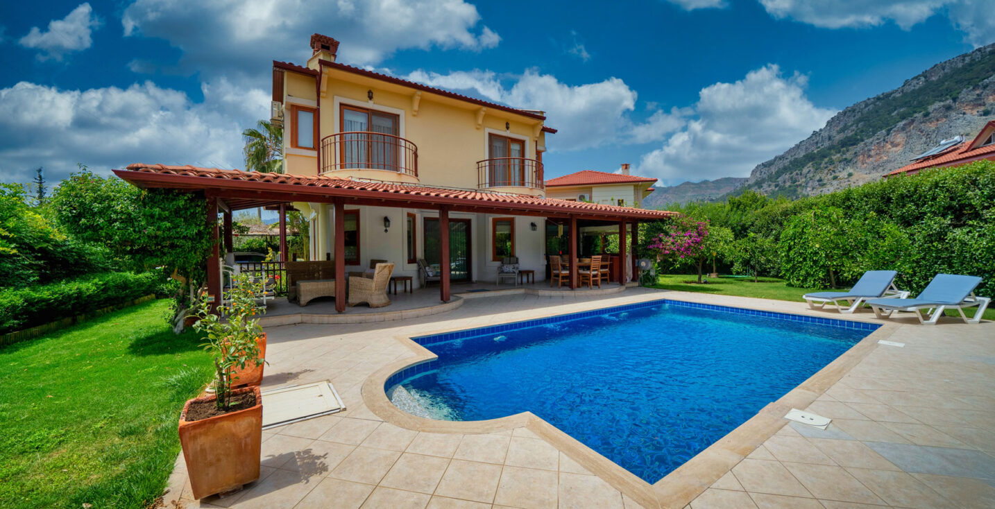Holiday Rental Villa with Pool for in Gocek, Fethiye, Turkey